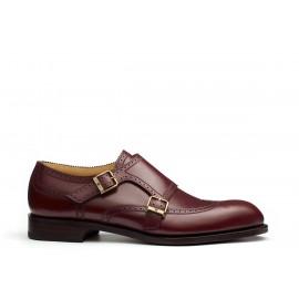 Double-monk shoe